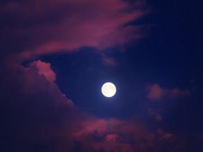Volle maan op zaterdag 14 september 2019