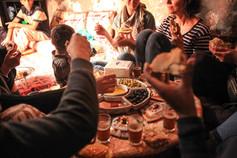 eten, gezelligheid marokko