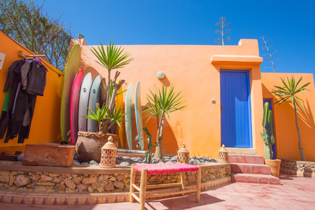 strand huis marokko