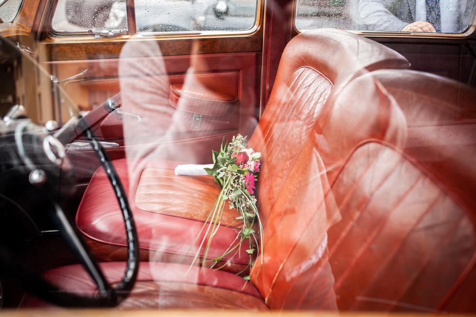 Autoportrait avec Rolls Royce
