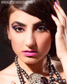 Fashion photo shoot - makeup and hair by
