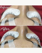 Before - After on eyelash extensions ✨_I