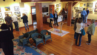 Gallery view of the pop-up show held in 2015 at the Avery Museum in Shady Side, Md.