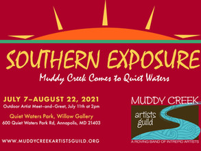 Muddy Creek Artists Guild Present SOUTHERN EXPOSURE, Opening July 7