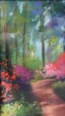 """Azaleas at the Arboretum,"" pastel by Roxanne Weidele"