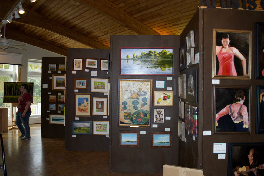 Our pop-up gallery's can appear anywhere in South County.