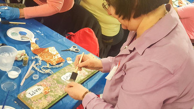 Our DoArt workshops are a great way to try something new!