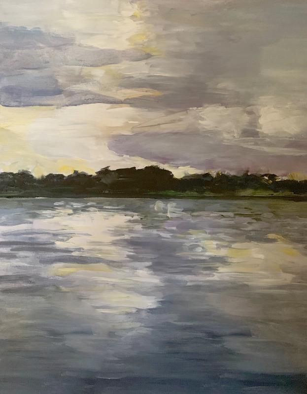 Painting by Ingrid Gehle