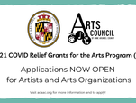 Open Applications: COVID-19 Relief for Artists