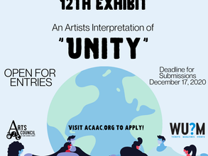 """Open Call: Entries are NOW open for What's Up? Media Exhibit """"Unity"""""""