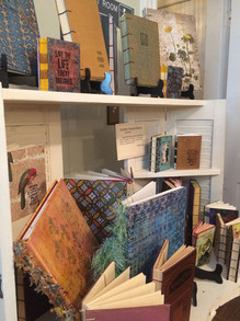 Handmade books by Chrissy Hines
