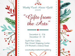 Muddy Creek Artists Guild's Holiday Show Highlighted by the Capital Gazette