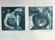 """Patsy Card's """"Dusk and Dawn"""" Print Featured in New Virtual Exhibition"""
