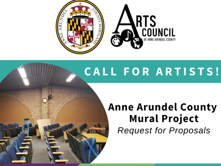 Call for Entries: Anne Arundel County Mural Project