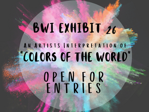 """MCAG Artists Featured in BWI Exhibit 26, """"Colors of the World"""""""