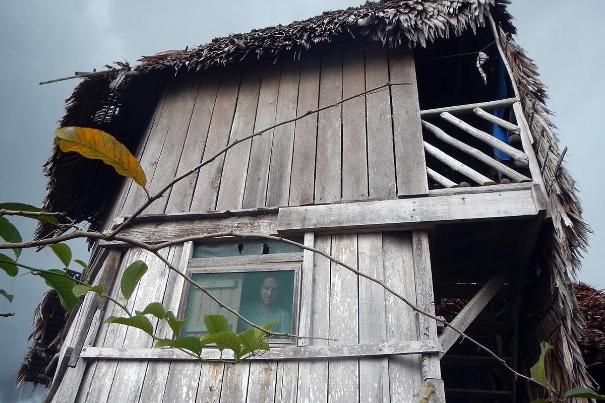 Inside maloka house