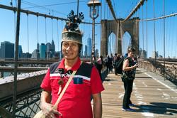 Pablo Pinedo in New York