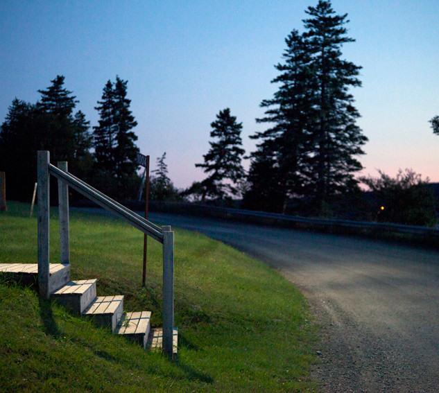 Evening stairs