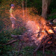 Tim's fire