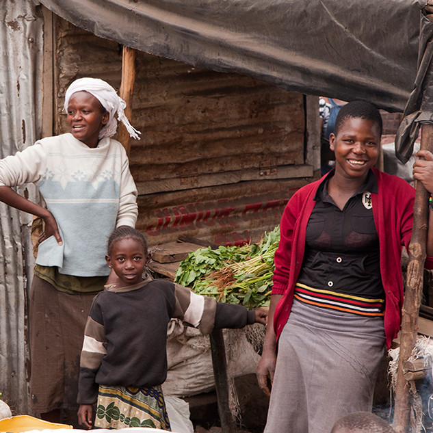 Nairobi market sellers