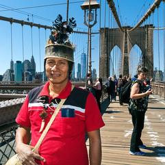 Kukama elder Pablo in New York