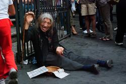 Homeless in Rome