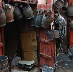 Rubber shop, Morocco