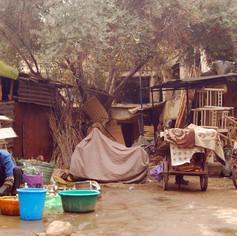 Workman's yard, Morocco