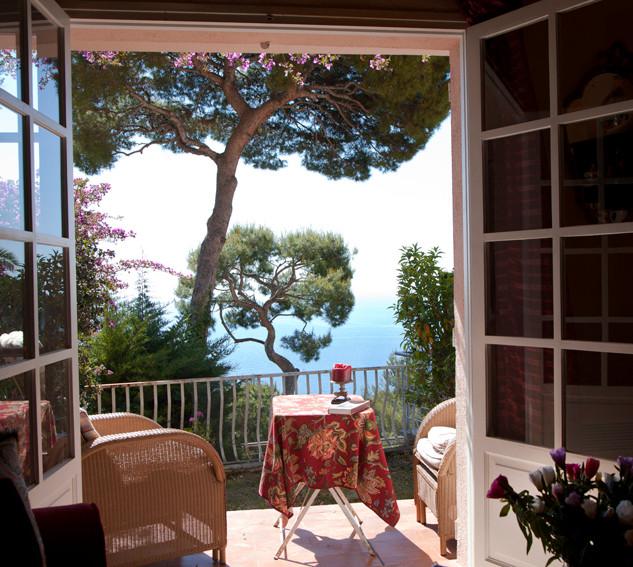Terrace in Nice, France
