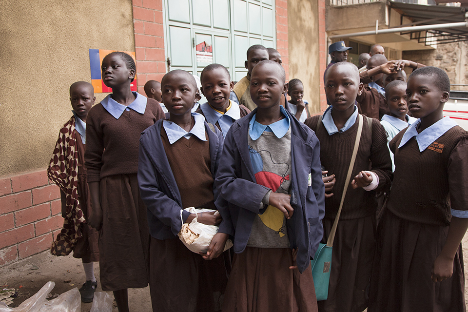 Nairobi's school girls
