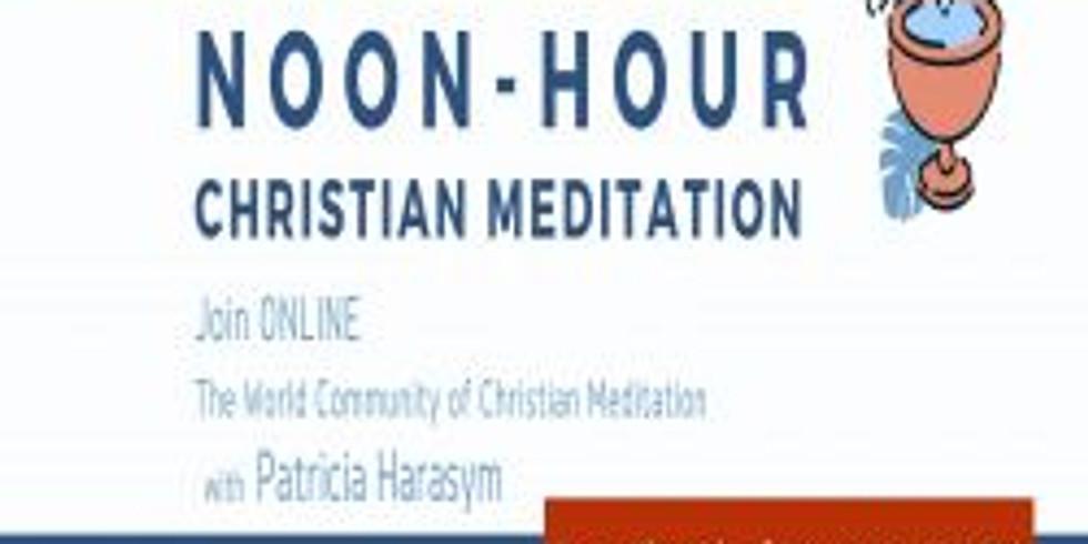 ONLINE Noon-Hour Christian Meditation