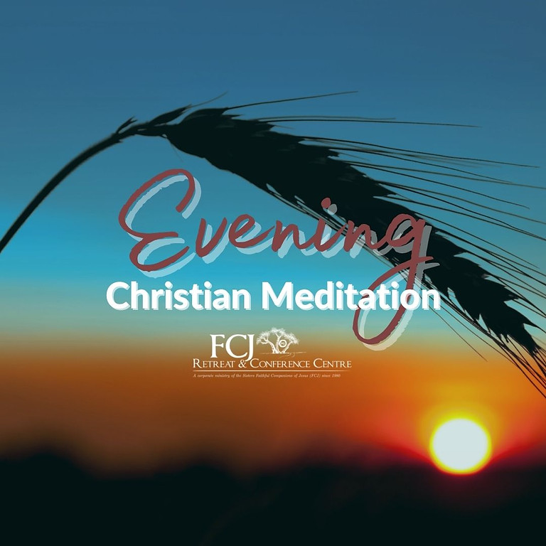 IN PERSON Monthly Evening of Christian Meditation Nov 4