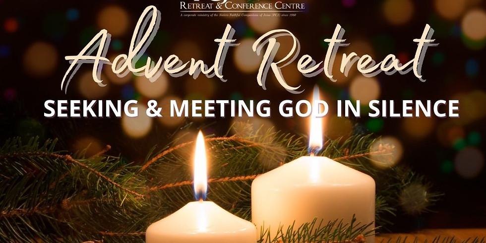Christian Meditation Advent Retreat - Seeking and Meeting God in Silence