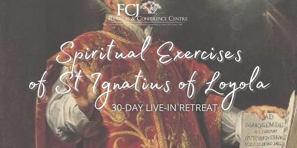 30 Day Retreat Full Spiritual Exercises of St. Ignatius of Loyola Jul 2