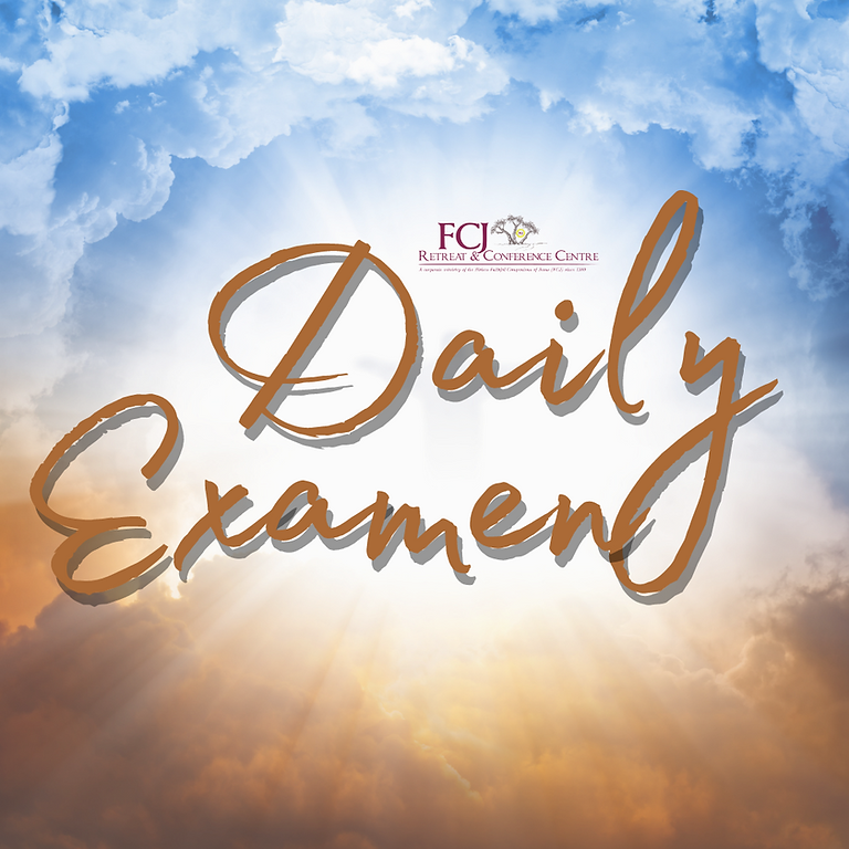 ONLINE Support for the Daily Examen - On Mission June 15 2021