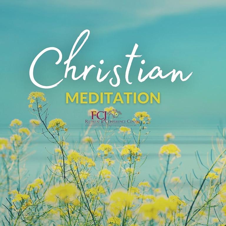 ONLINE Christian Meditation Aug 5