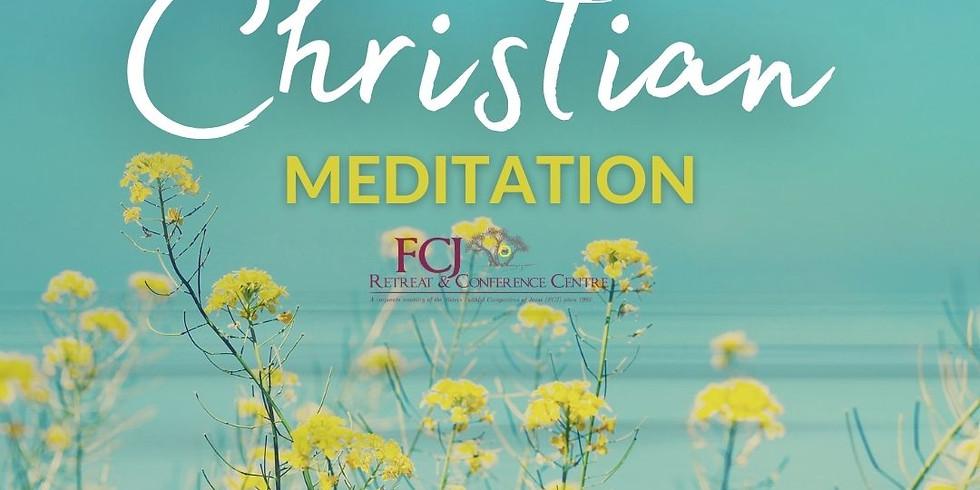 ONLINE Christian Meditation Jun 3 2021