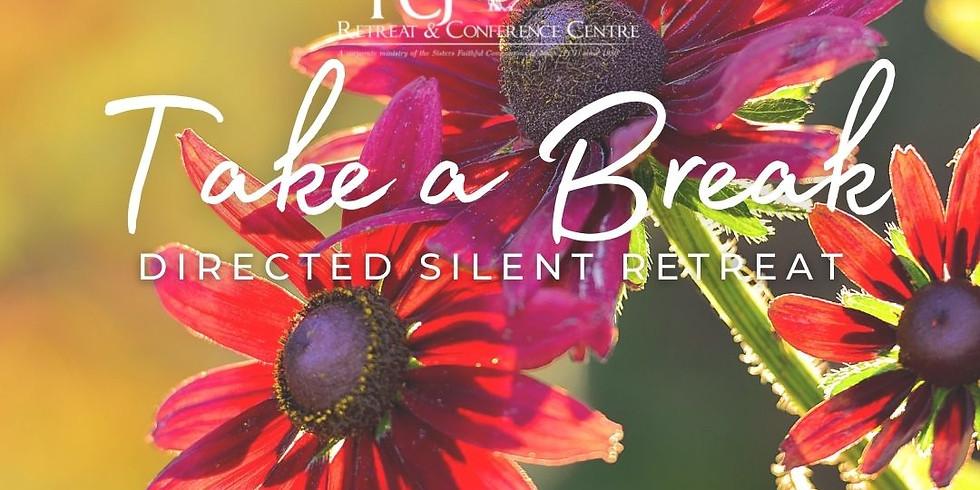 ONLINE Take a Break - Directed Silent Retreat Aug 20