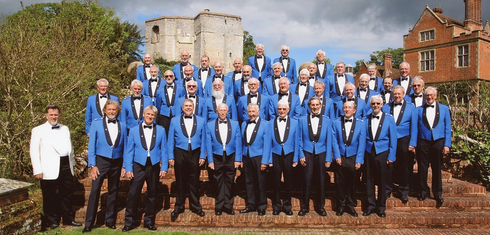 Kent Police Male Voice Choir at Chilham Castle May 2017