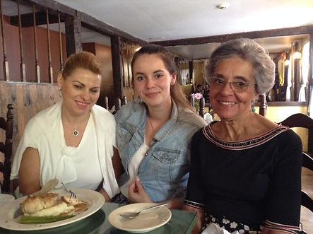 2015 SIA Venesa Rugova w her mom & B Dod
