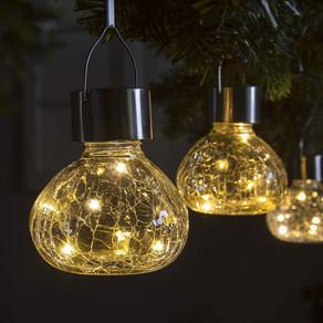 Solar LED Hanging Decorative Garden Lights