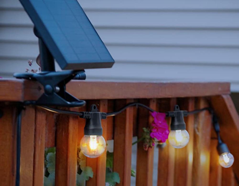 Solar Garden Light Panel