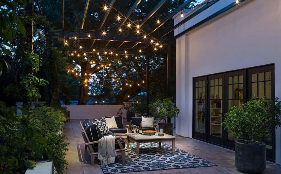 Globe String Garden Lights