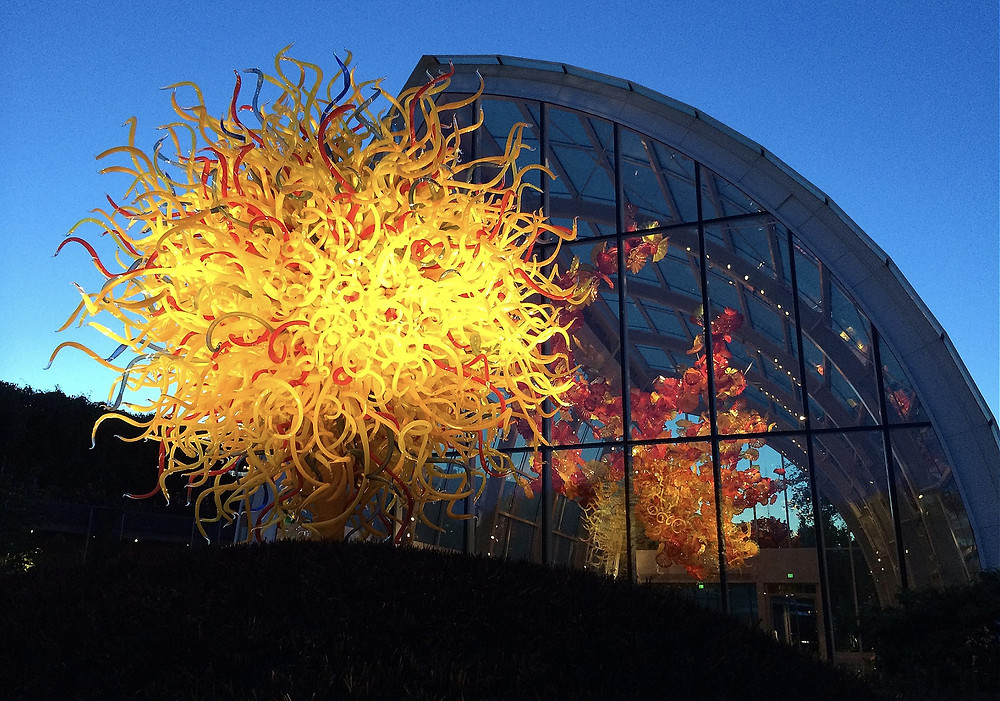Chihuly Garden and Lights Seattle