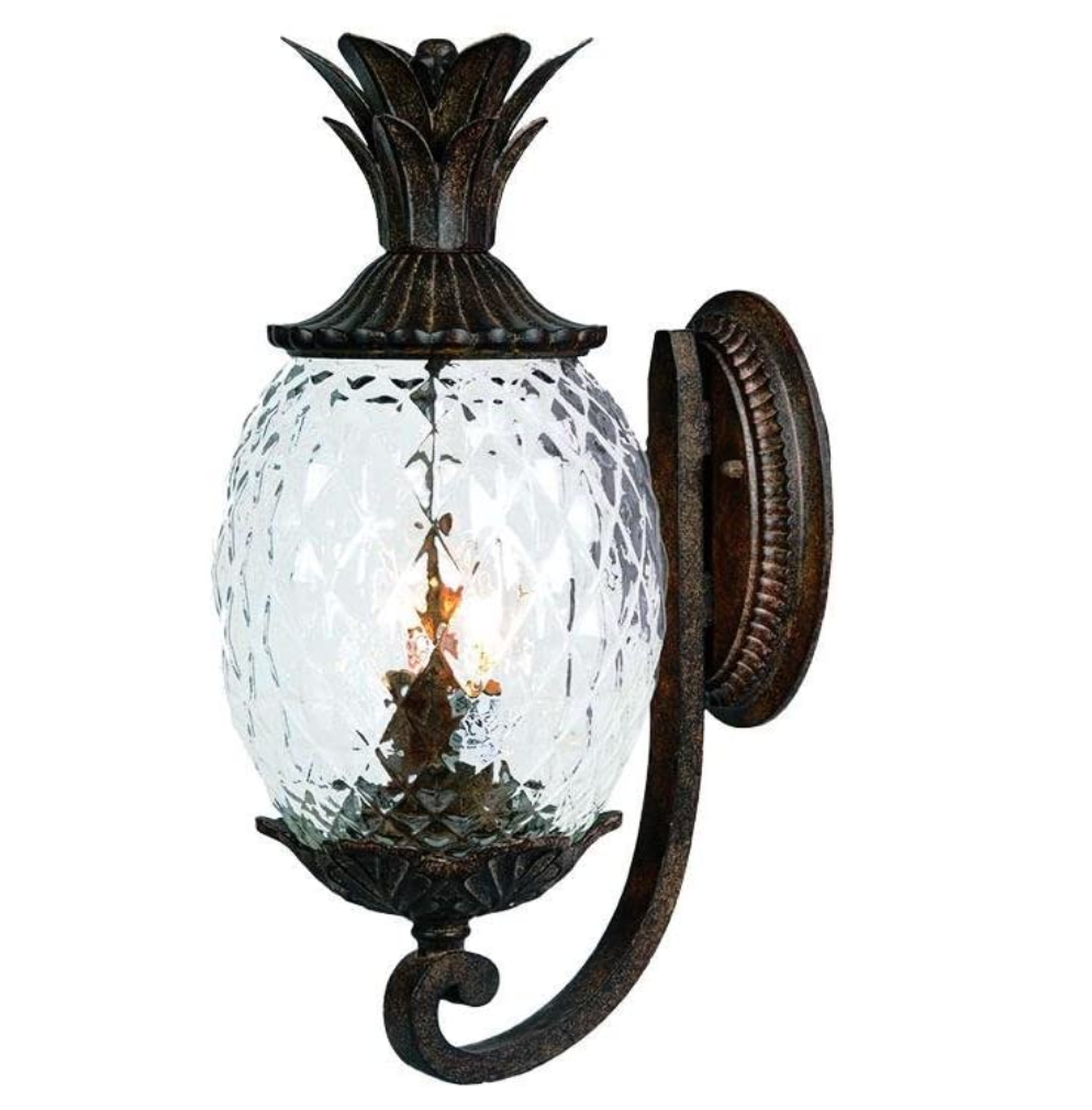 Pineapple Wall Mounted Outdoor Light