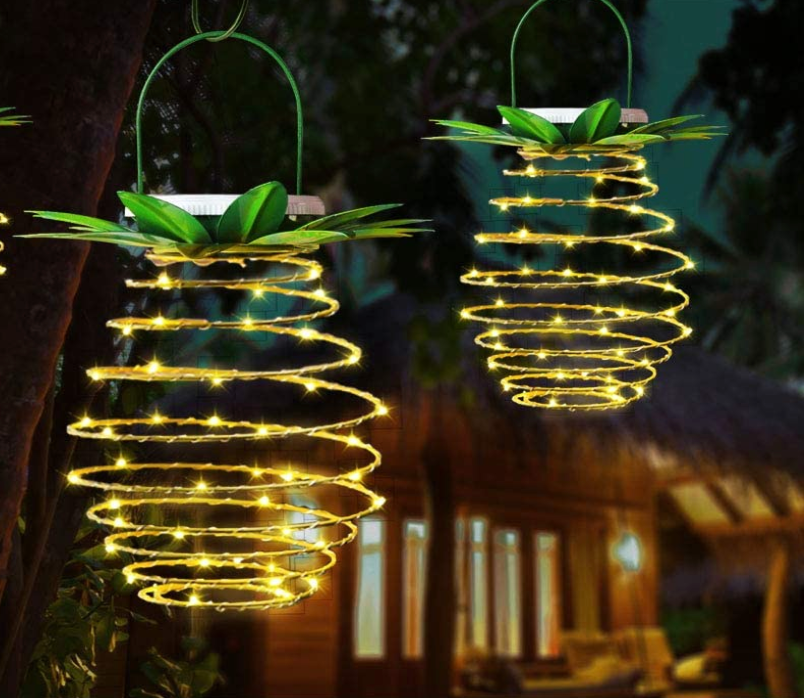 Pineapple Solar LED Garden Lights