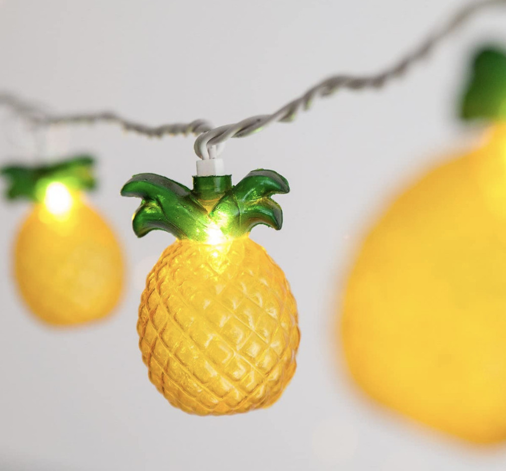 Pineapple Outdoor Garden String Lights