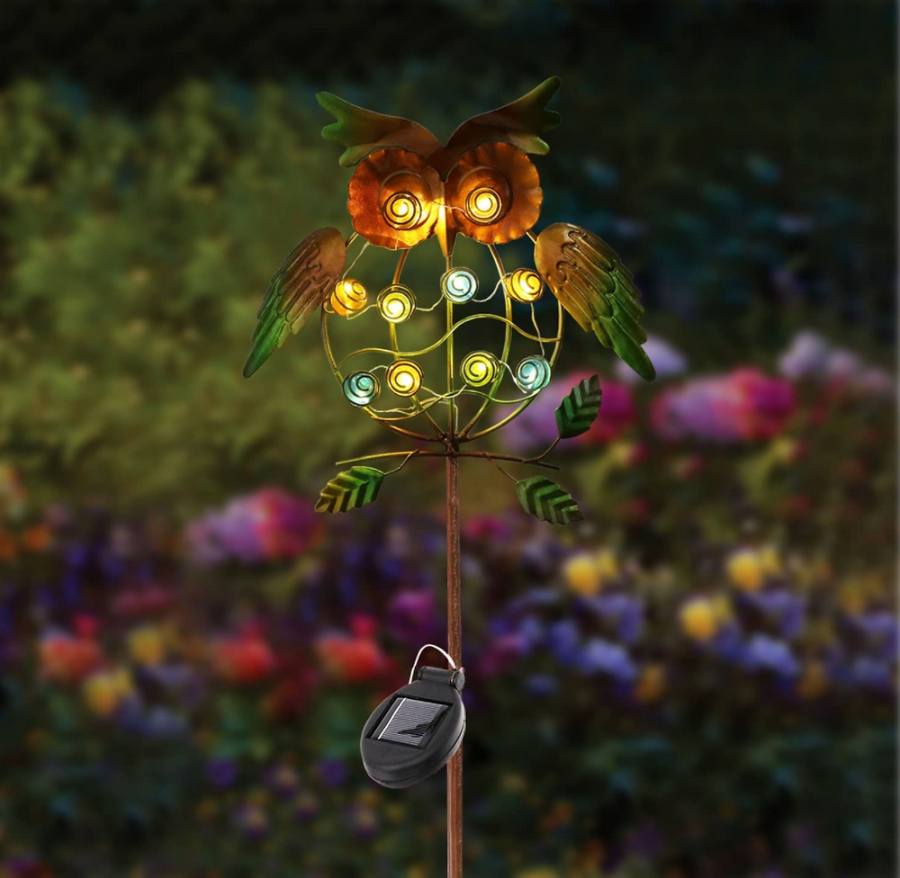 Owl Stake Light