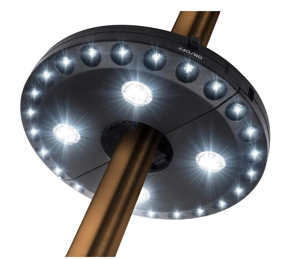 Best Patio Umbrella Light