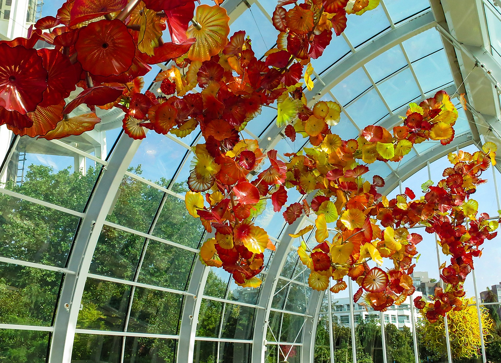 Glasshouse Chihuly Garden and Light Seattle
